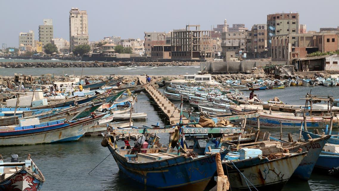 A view of the fishing port of Hodeidah, Yemen April 17, 2019. Picture taken April 17, 2019. REUTERS/Abduljabbar Zeyad