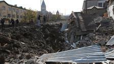 Heavy Azeri shelling hits Nagorno-Karabakh's largest city