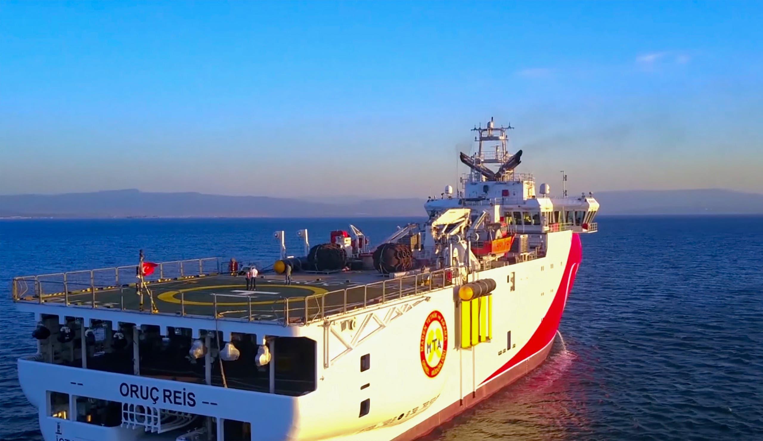 السفينة التركية بالمتوسط