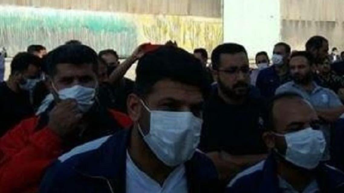 کارگران نیشکر هفتتپه در اعتراض به بازداشت چهار همکارشان تجمع کردند