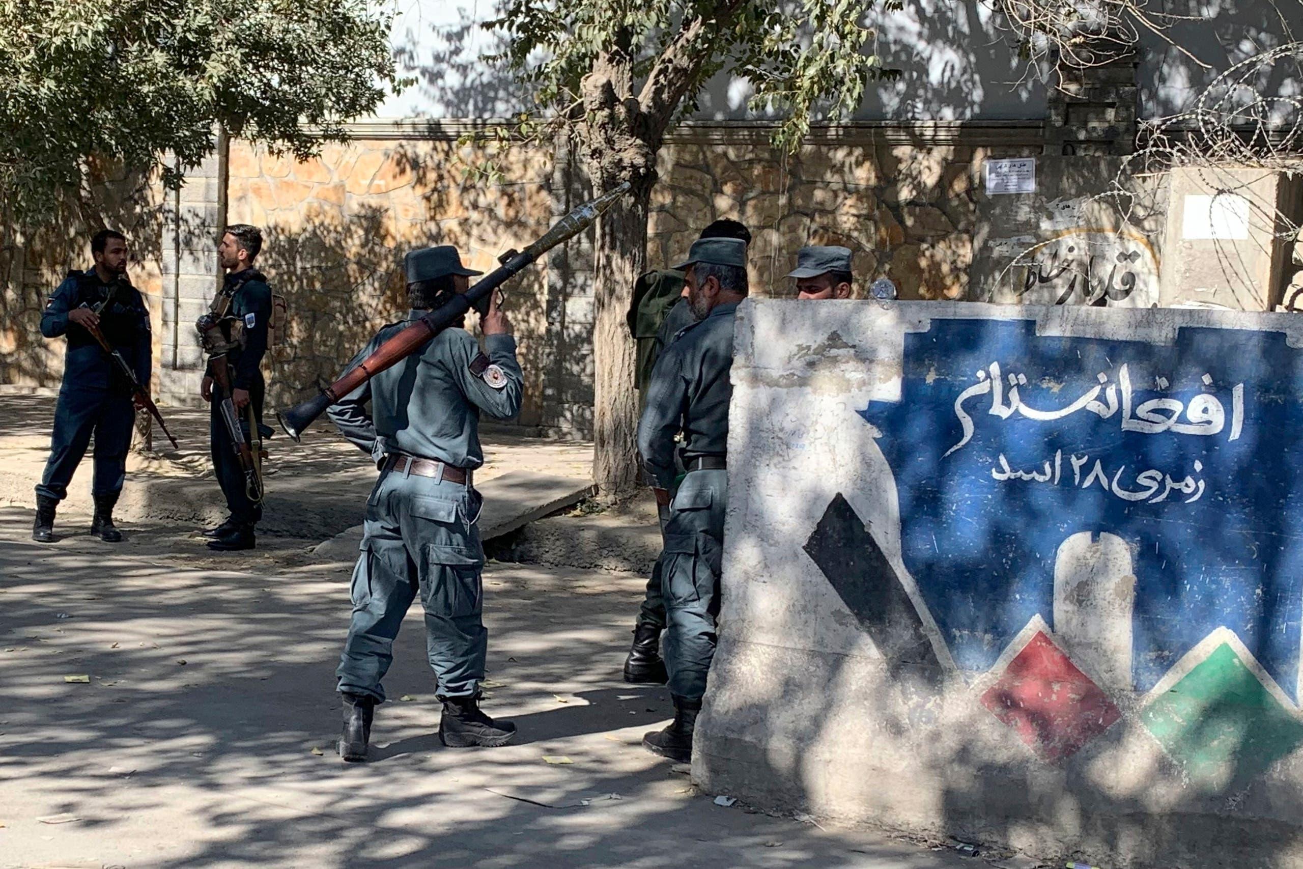 الشرطة تطوّق جامعة كابول
