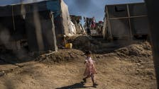 Fire breaks out in Greek refugee camp, burns down tents