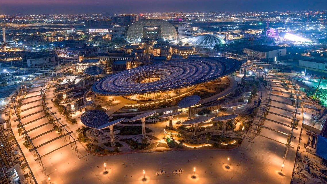 A panoramic image of the Expo 2020 Dubai. (Supplied)