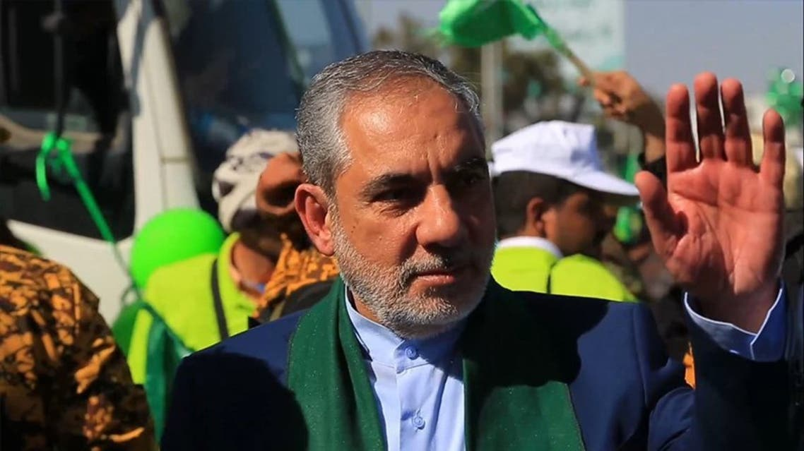 السفير الايراني في صنعاء حسن ايرلو - الحوثي