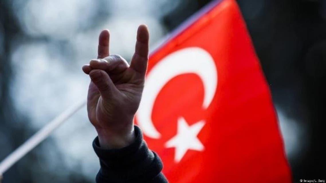 شعار حركة الذئاب الرمادية التركية