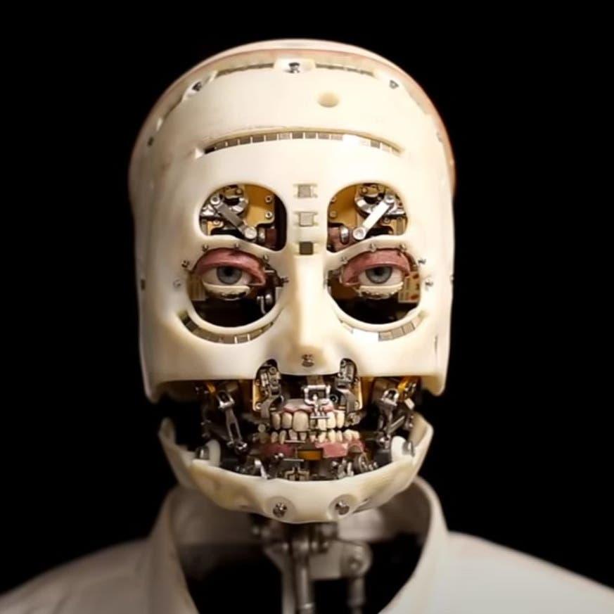 ديزني تطور روبوتاً يمكنه أن يرمش مثل الإنسان