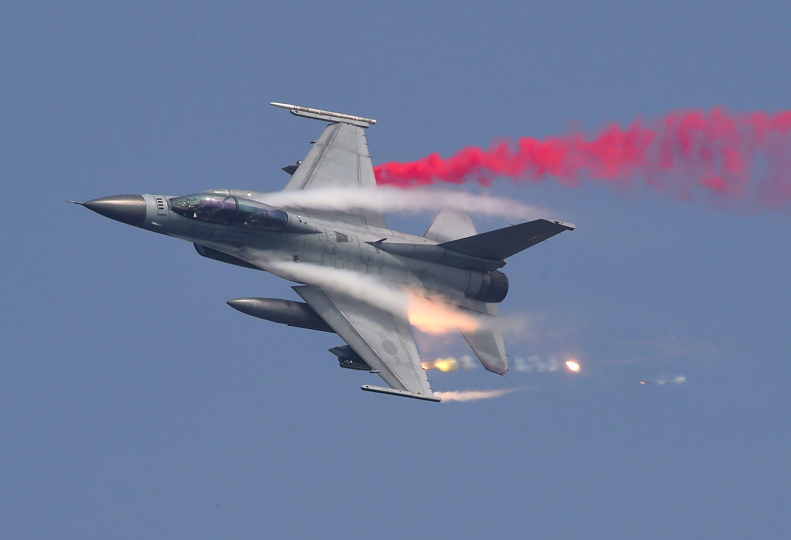 مقاتلة لسلاح الجو الكوري الجنوبي