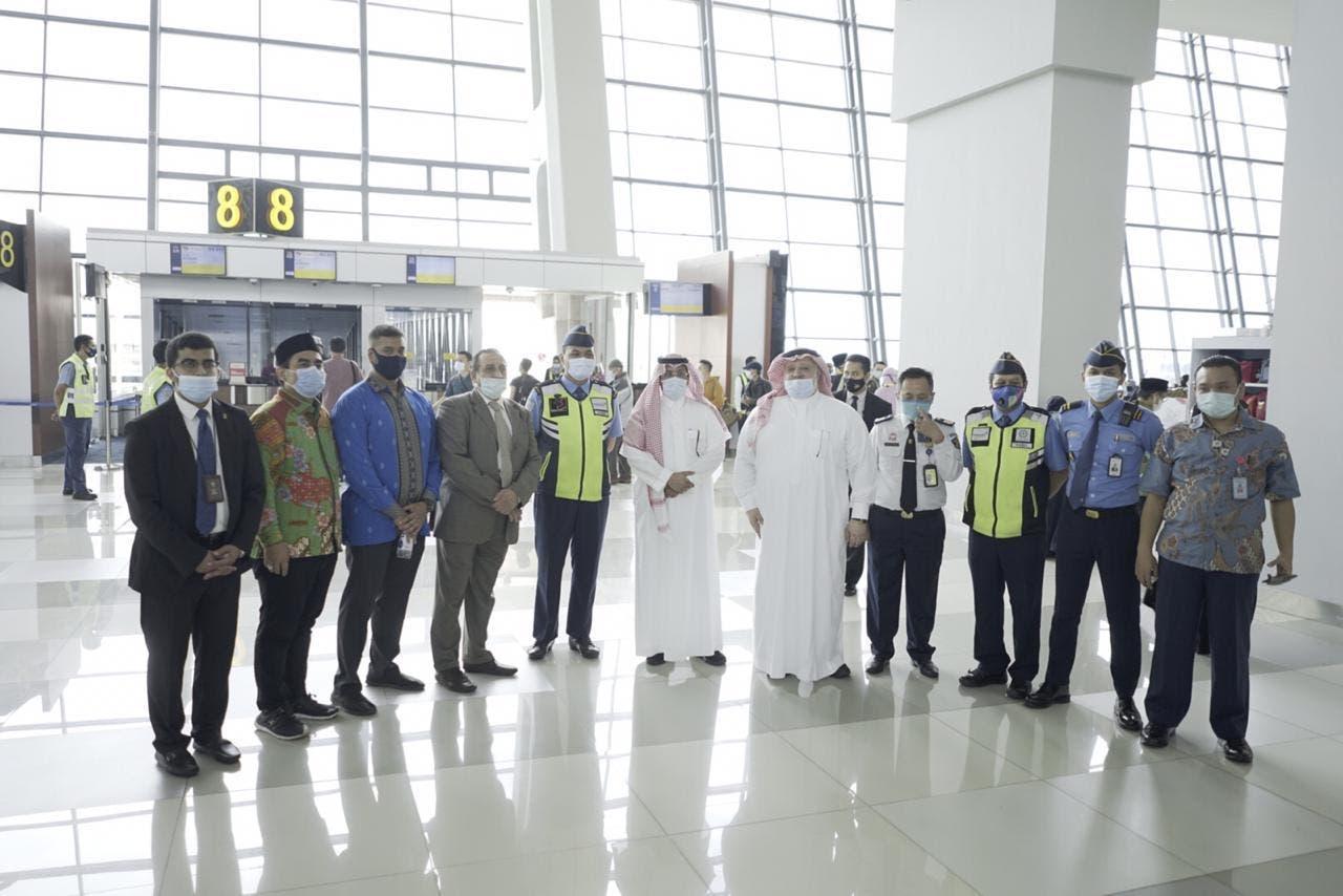 indonesia saudi ambassador met a Pilgrims at airport