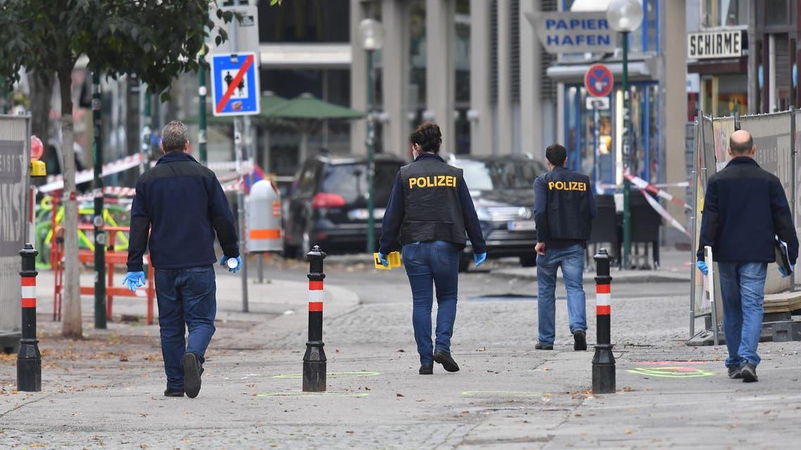 من موقع هجوم فيينا يوم 3 نوفمبر