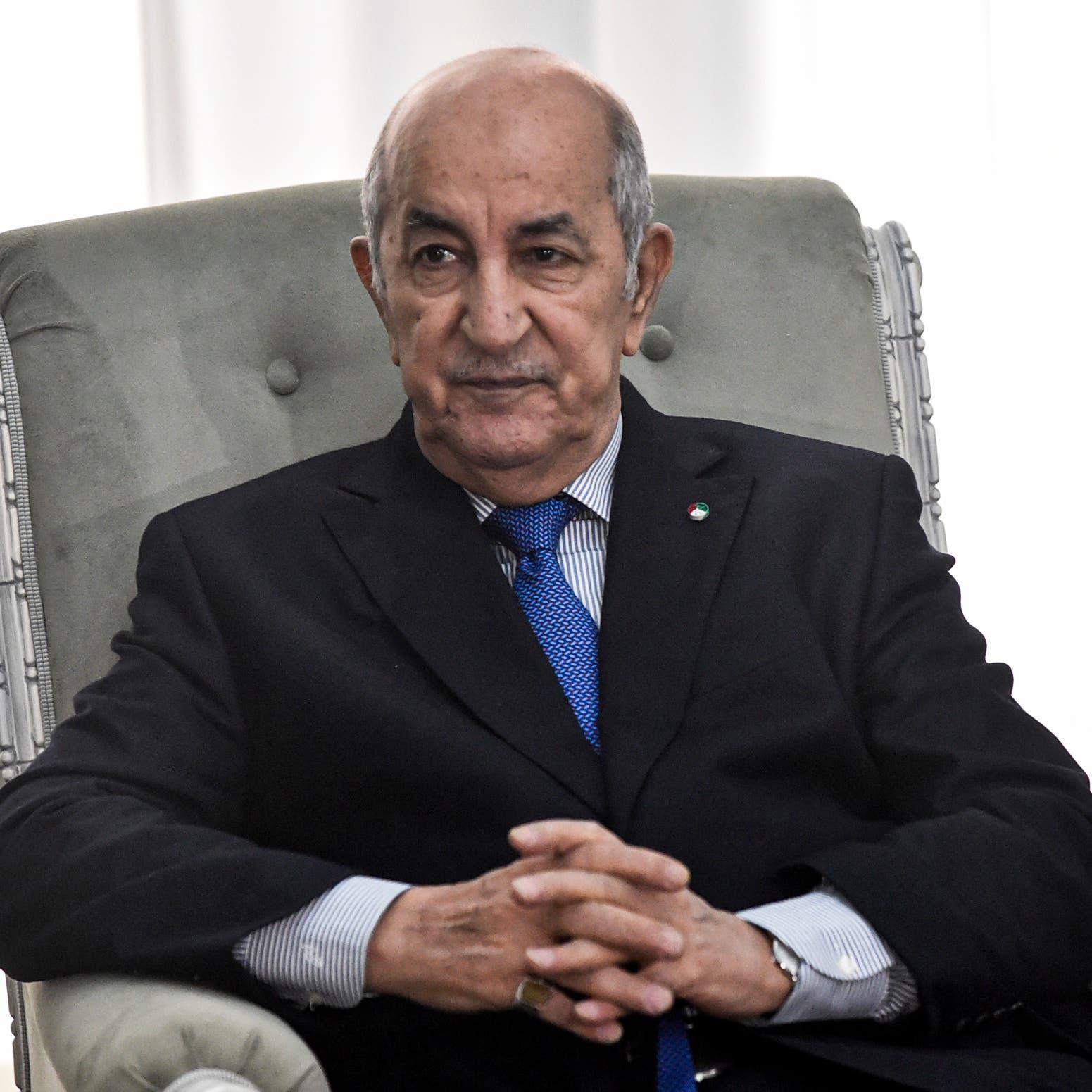 أول ظهور علني للرئيس الجزائري منذ نحو شهرين