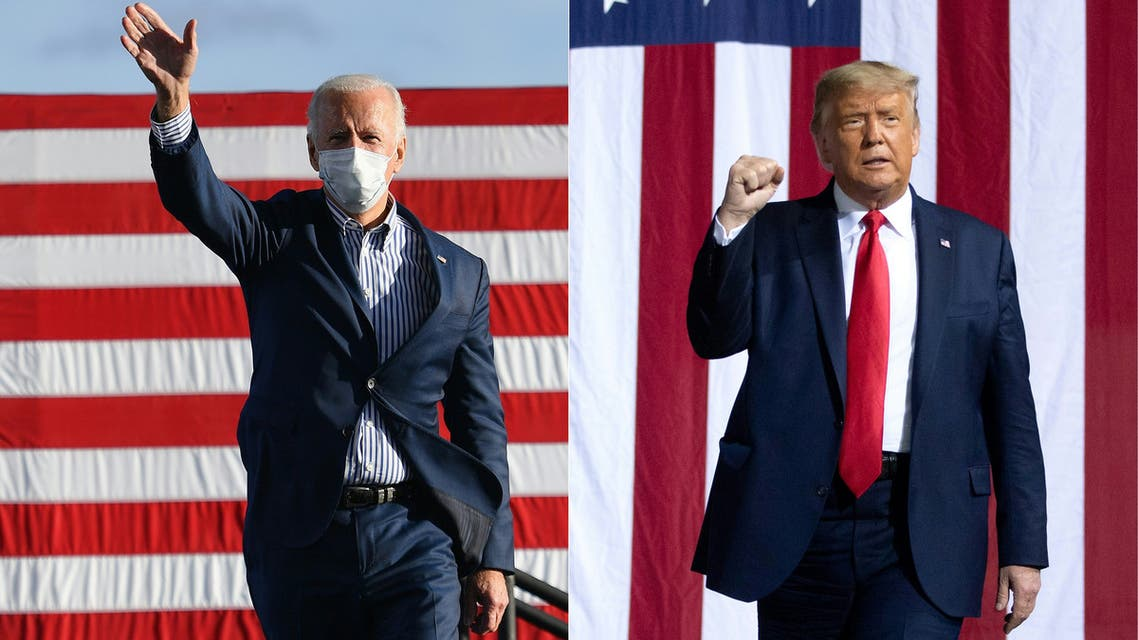 Biden Trump - US President Donald Trump and Joe Biden - US Elections (AFP)
