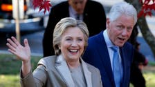 US Elections 2020: Hillary and Bill Clinton vote for Joe Biden