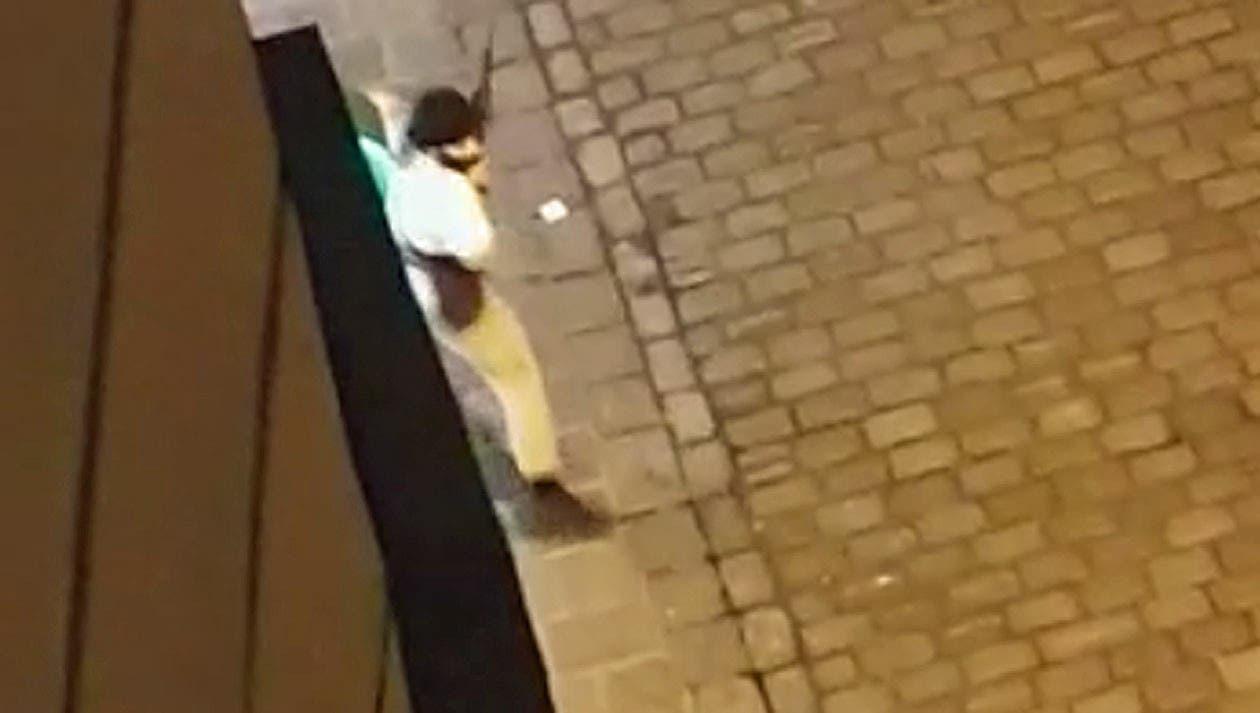 عکس مهاجم وین که توسط پلیس کشته شد