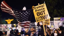 Protesters gather near White House on US Election Day