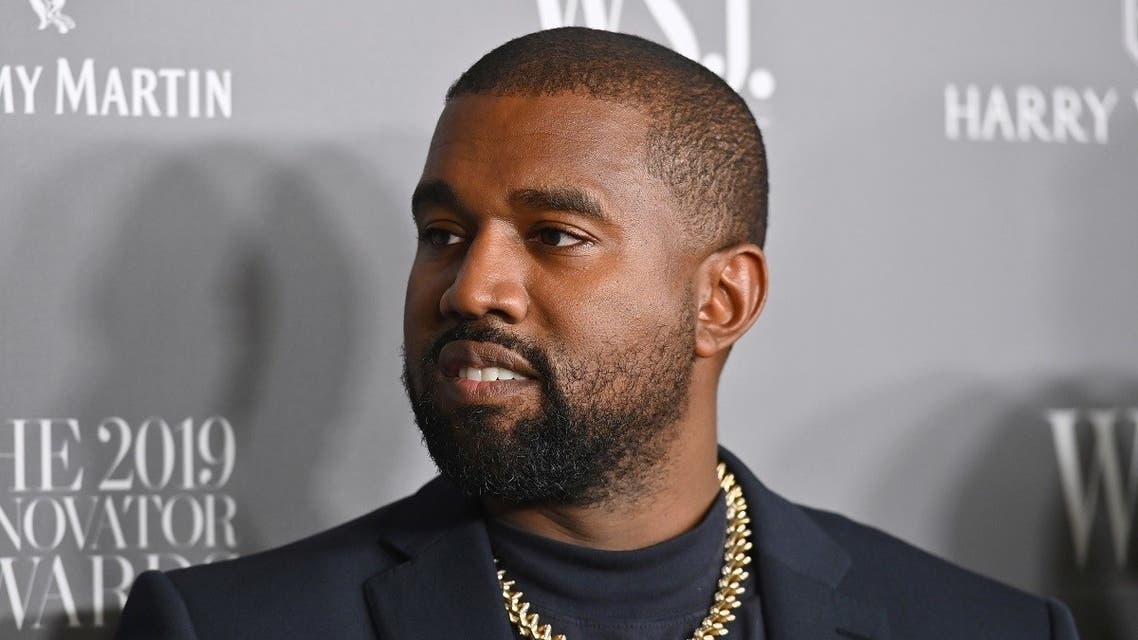 In this file photo taken on November 6, 2019 US rapper Kanye West attends the WSJ Magazine 2019 Innovator Awards at MOMA in New York City. (Angela Weiss/AFP)