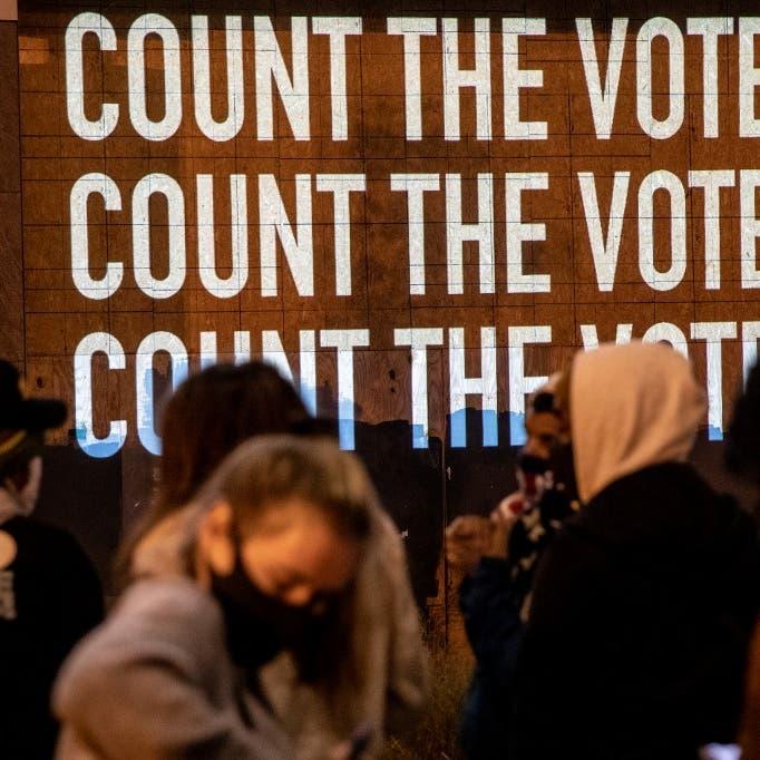 يوم الانتخابات الأميركية مر بهدوء.. صور لأبرز المحطات