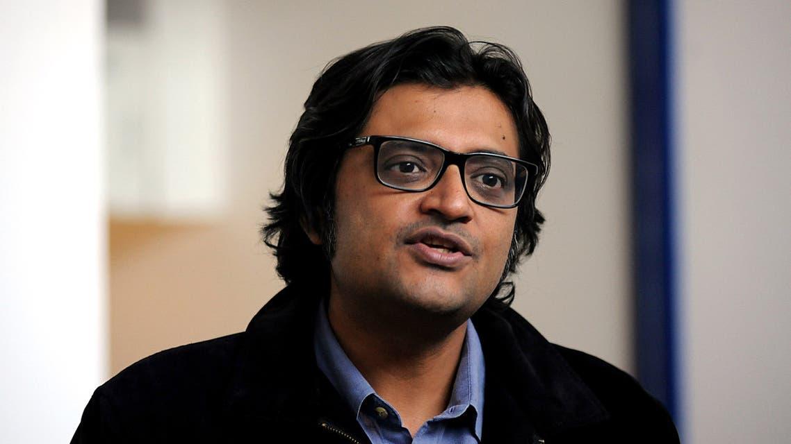 Republic TV founder Arnab Goswami. (File photo: AFP)