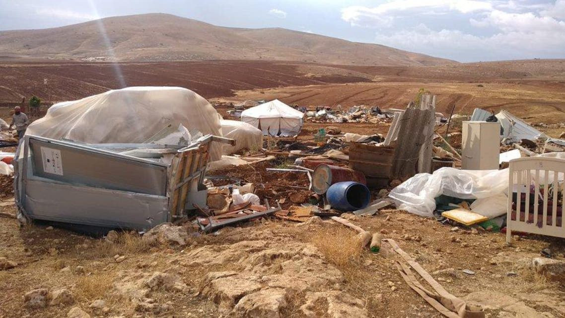 Israeli Army wipe out village