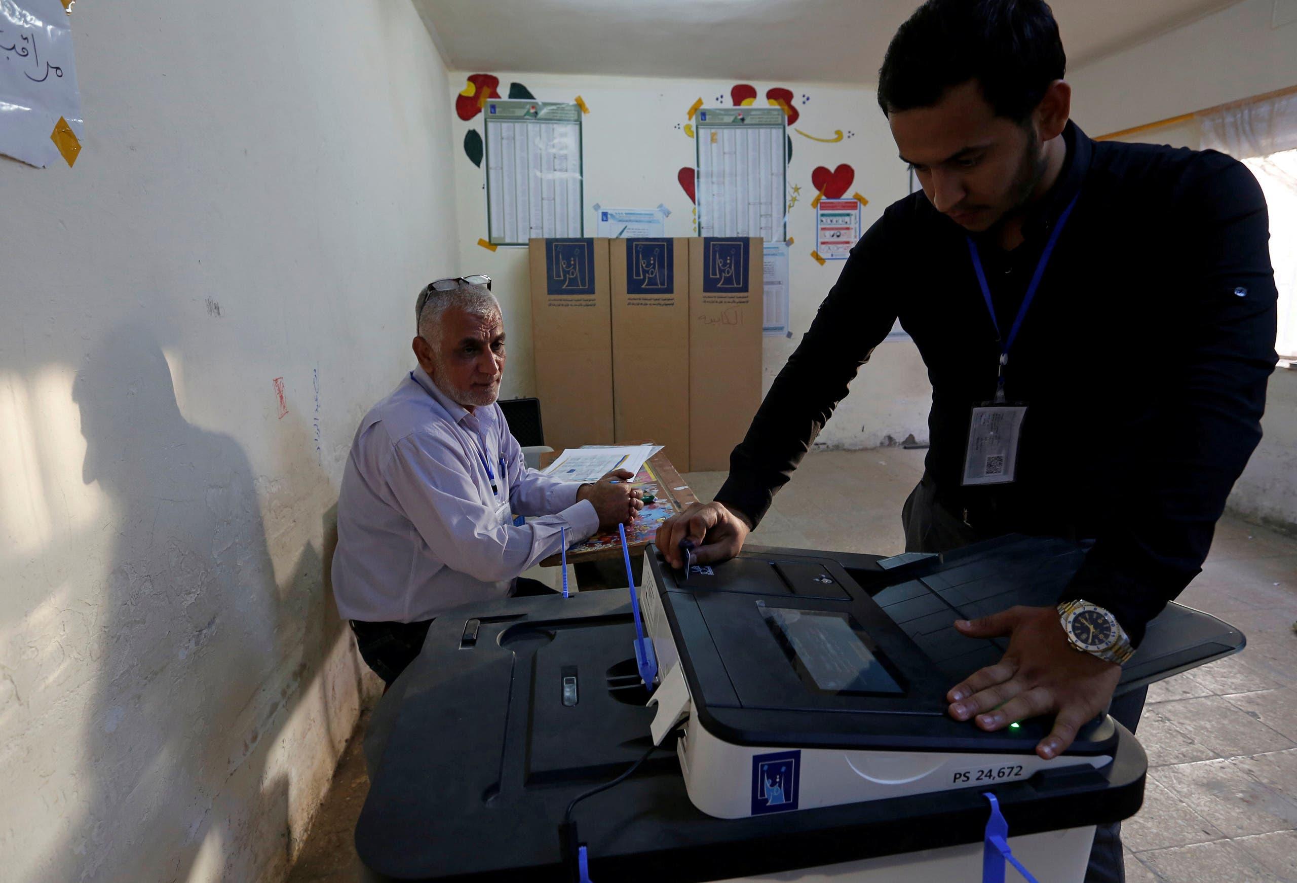 من الانتخابات الماضية التي شهدها العراقي في 2018 (أرشيفية)