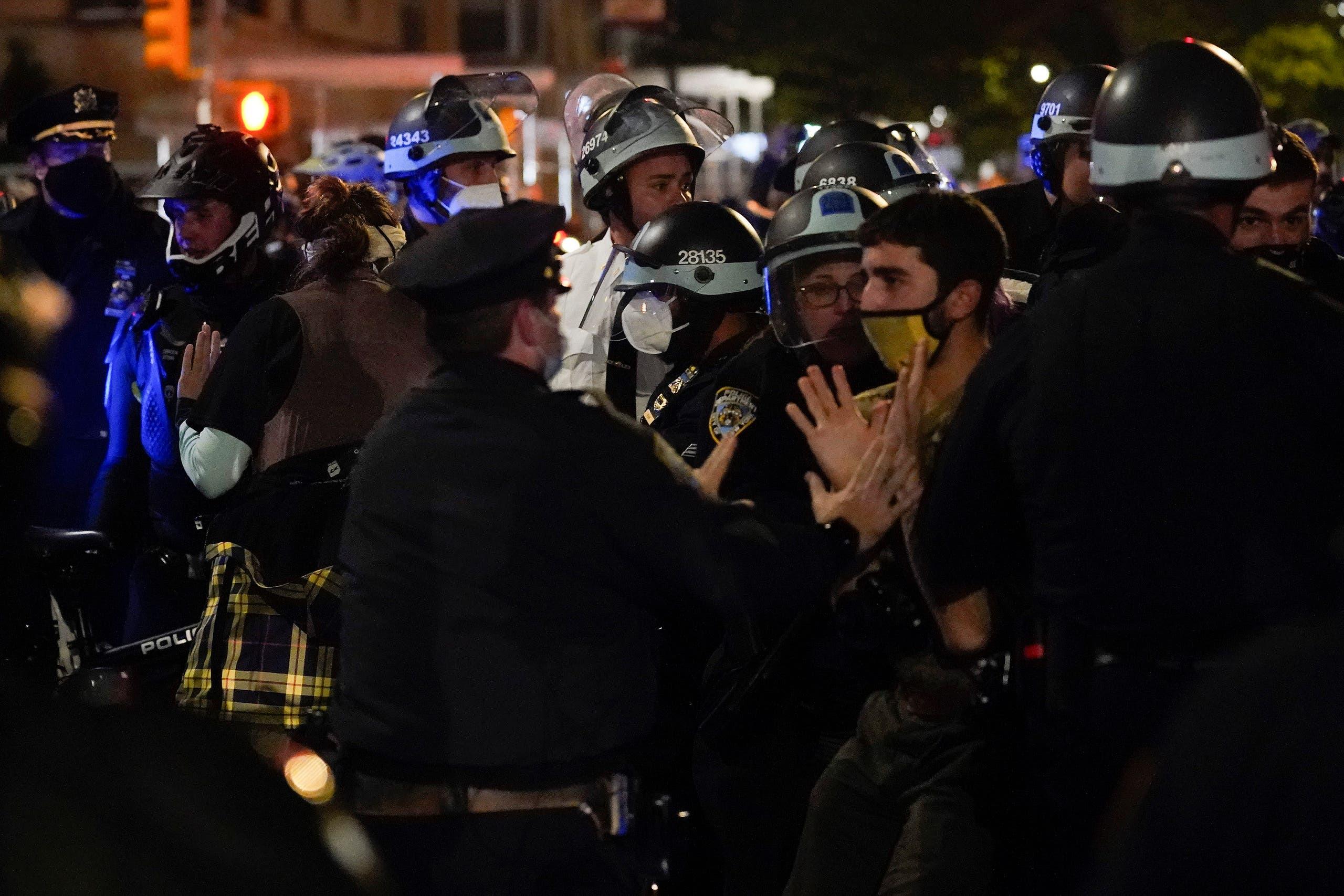 من الاحتجاجات في نيويورك