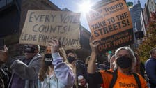 Elections 2020: Dueling protests spread in cities across US as vote-counting drags on