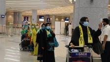 بیت اللہ کی زیارت کے لیے حجاز مقدس پہنچنے والے عمرہ زائرین خوشی سے سرشار