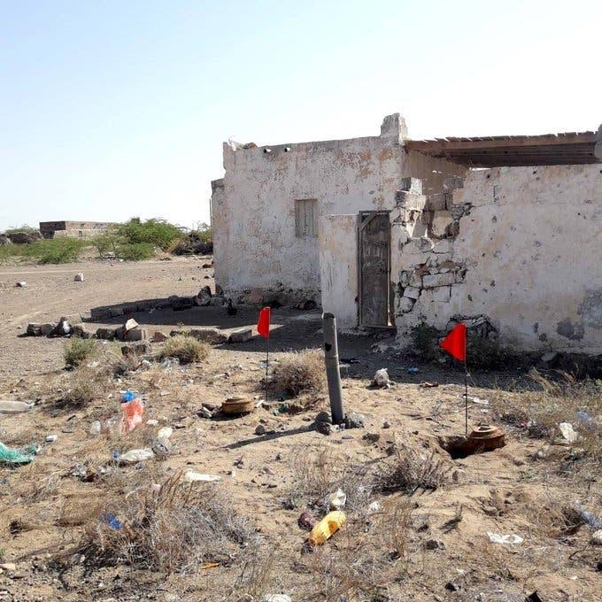 """اليمن.. تفخيخ حوثي بالألغام لمسجد بتعز و""""مسام"""" ينزعها"""