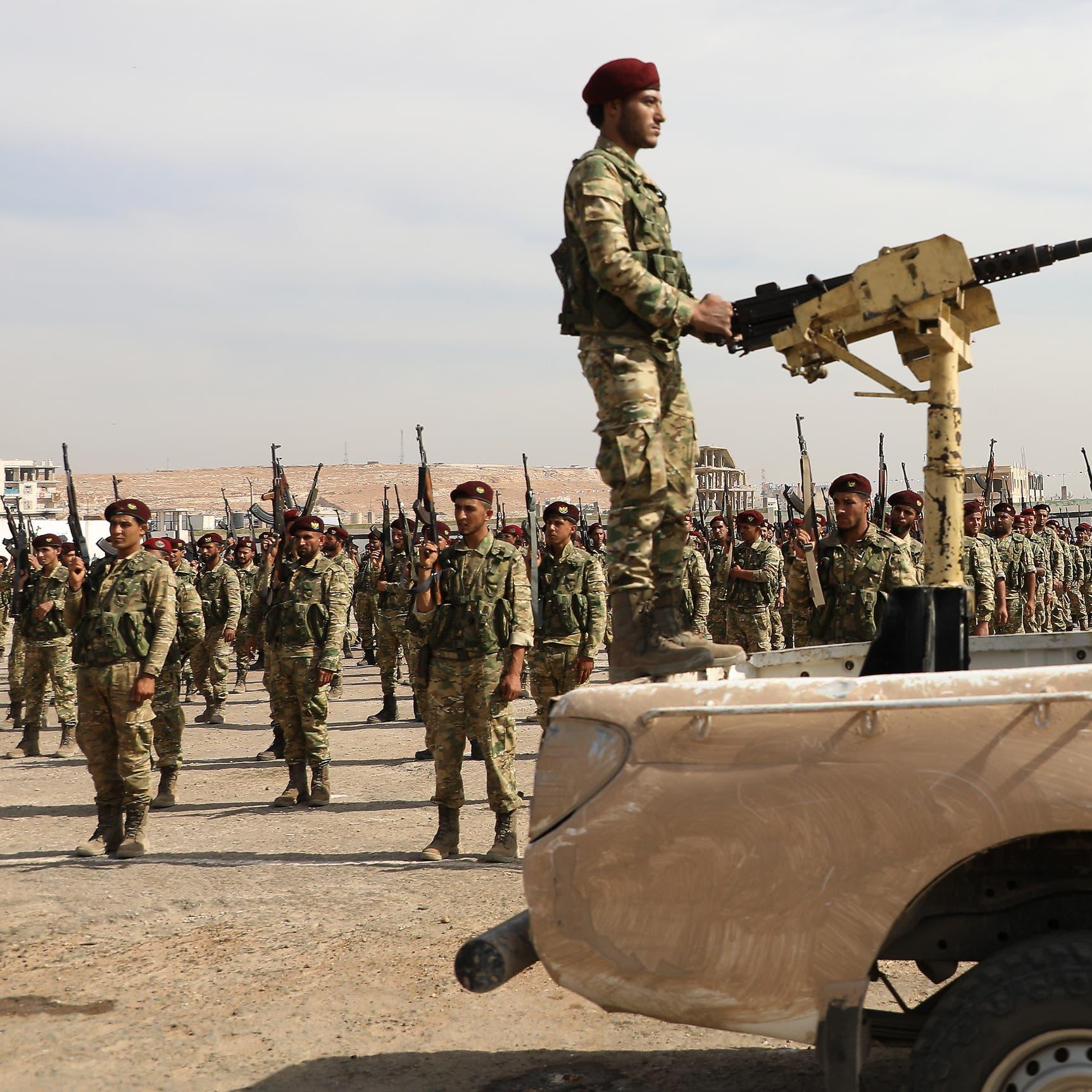 اشتباكات بين القوات الكردية وفصائل موالية لتركيا شمال حلب