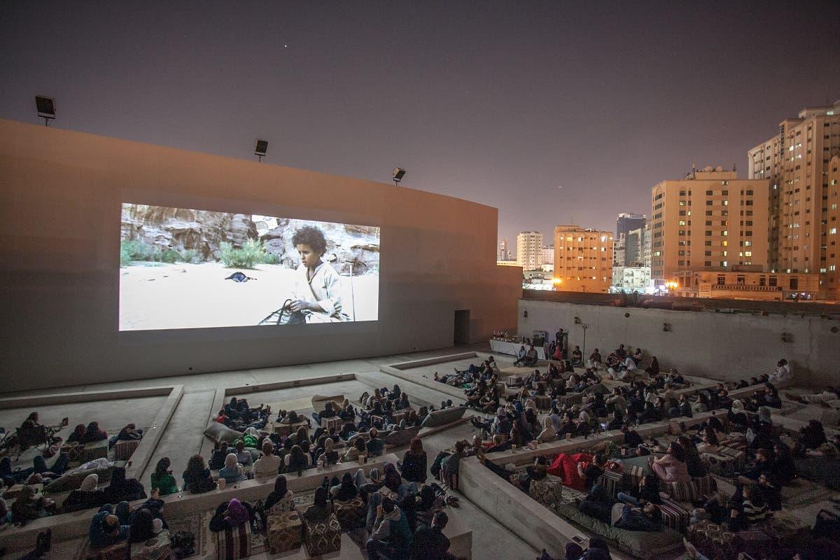 Film screening of 'Theeb' at Mirage City Cinema, Sharjah Art Foundation, Sharjah, 2016.