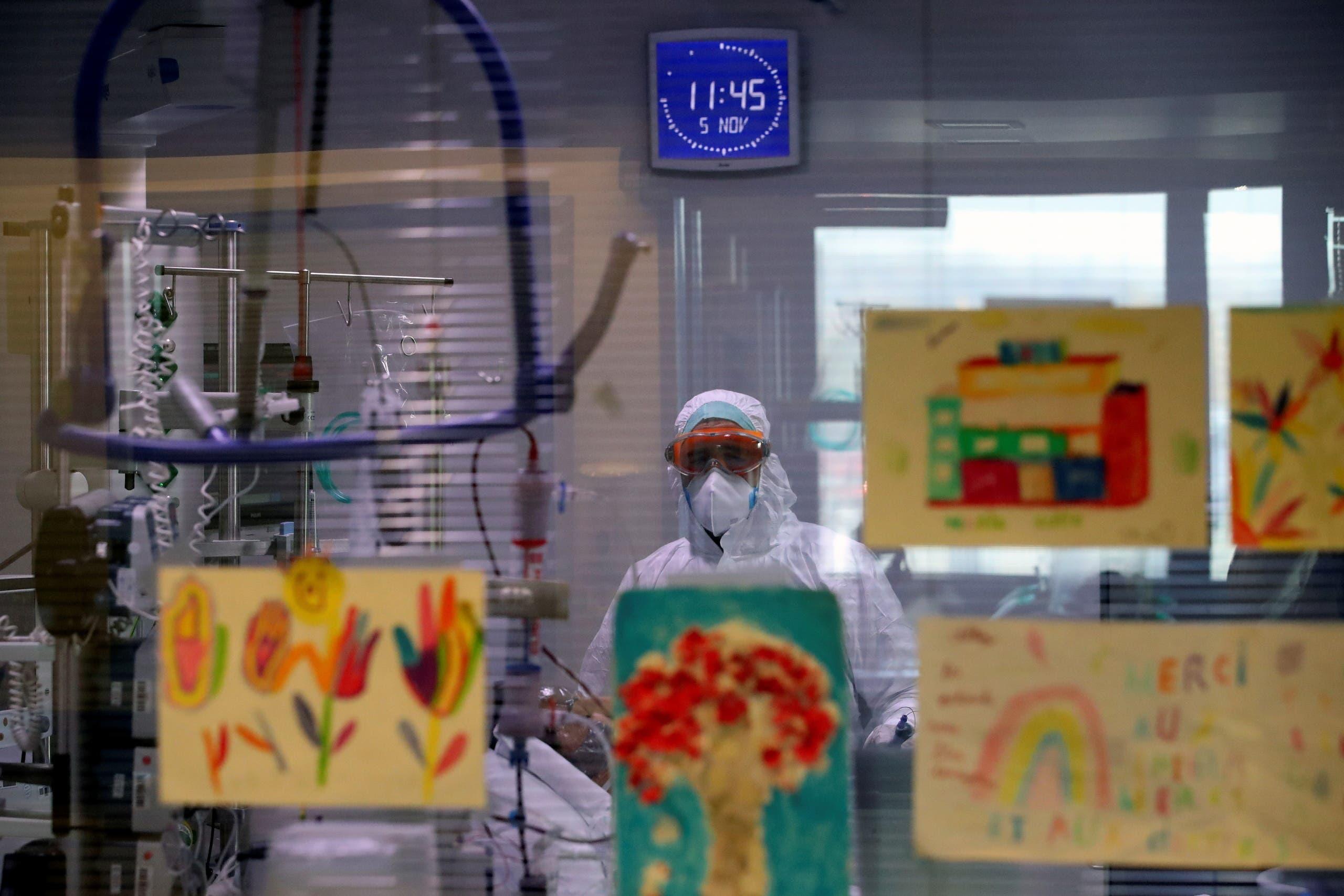 قسم مخصص لعلاج الأطفال في مستشفى ببلجيكا تم تحويله لاسقبال المصابين بكورونا