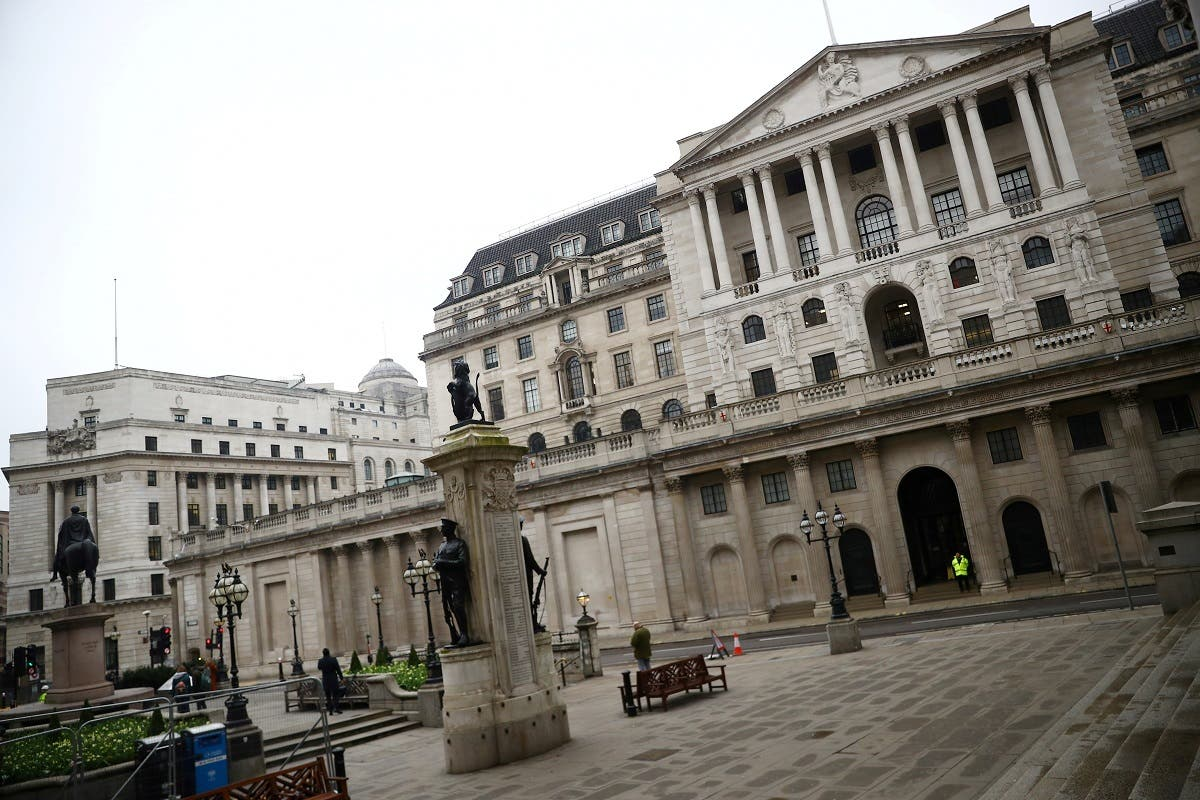 A general view of The Bank of England in London, Britain. (Reuters)