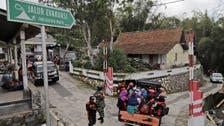 Indonesia begins evacuation as active volcano rumbles