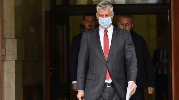 رئيس كوسوفو يودع بسجن تابع لمحكمة دولية في لاهاي