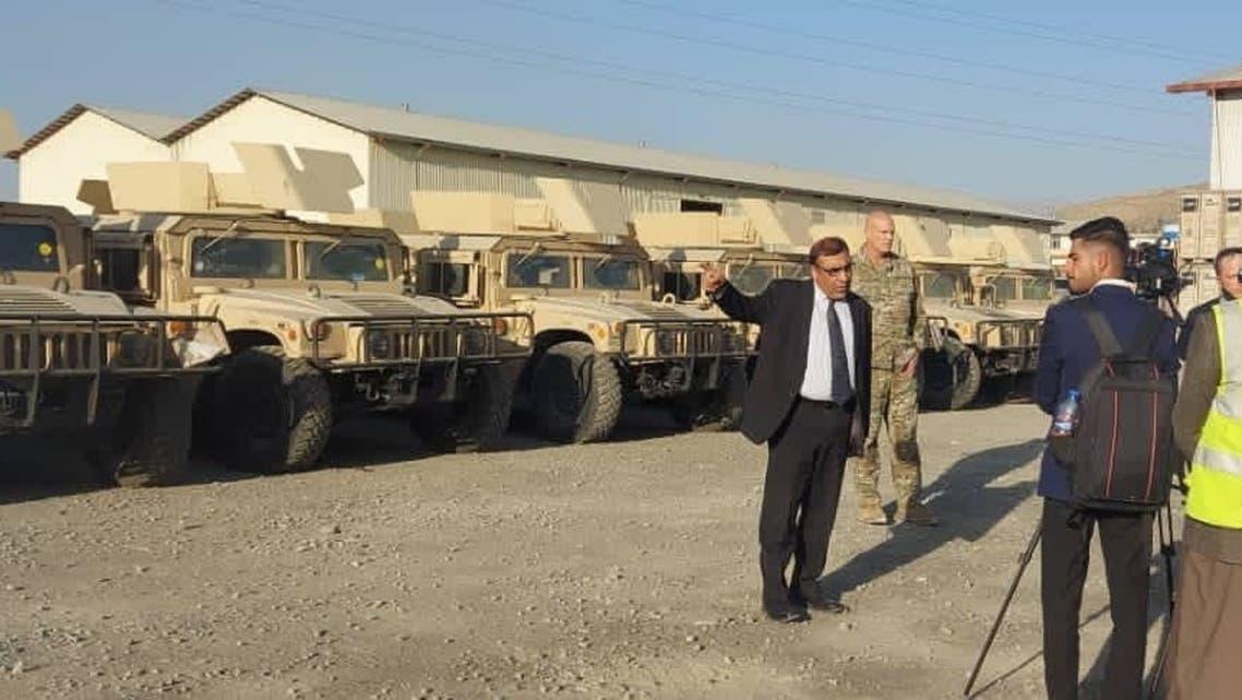 ناتو صدها تجهیزات و وسایل جنگی به ارتش افغانستان هدیه کرد