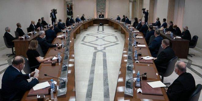 حكومة النظام السوري الجديدة