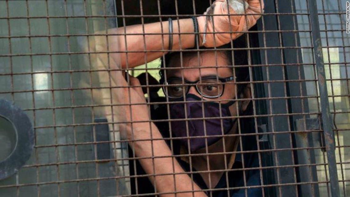 مجری جنجالی اخبار هند به اتهام دست داشتن در مرگ یک معمار دستگیر شد