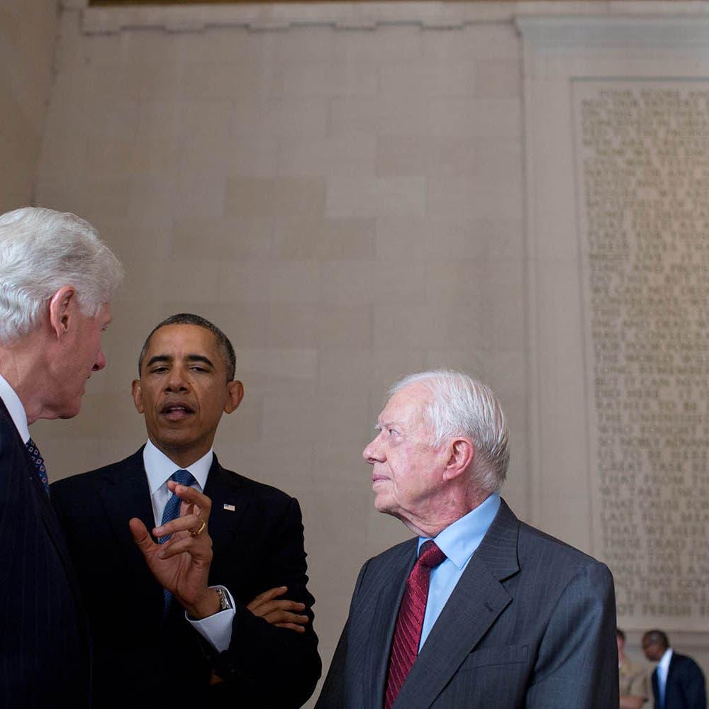 أوباما وكارتر وكلينتون يهنئون بايدن بالفوز