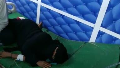 قصف حوثي على حي سكني بالحديدة وإصابة مسنة