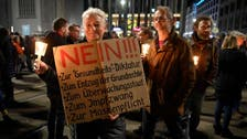 Coronavirus: German police clash with protesters against COVID-19 curbs