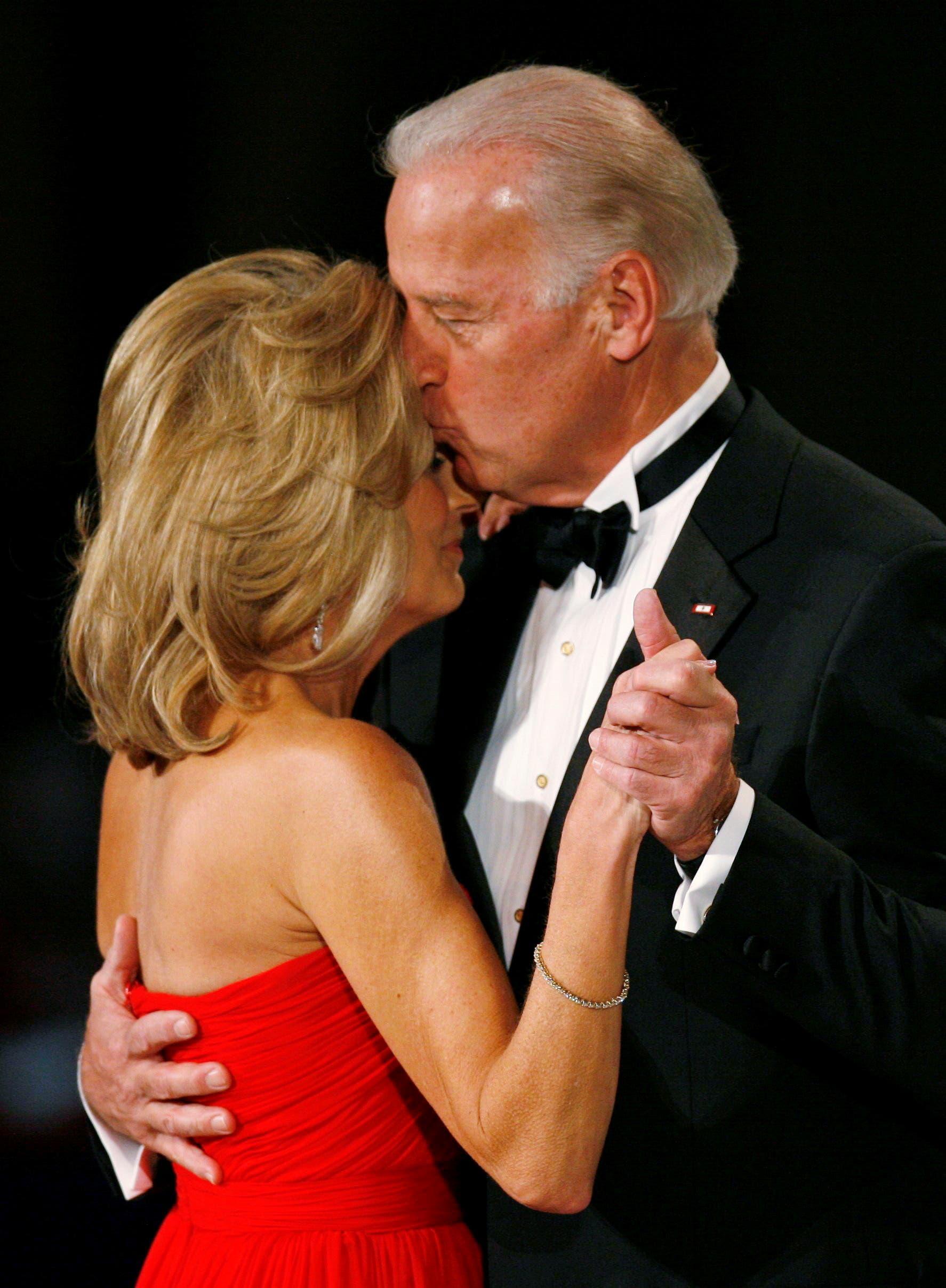 جو بايدن وزوجته جيل