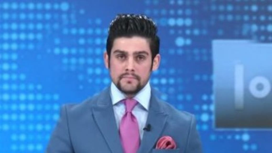 Yama Siawash, former Afghan TV presenter, was killed in a roadside bomb attack on Saturday, November 11, 2020. (Twitter)
