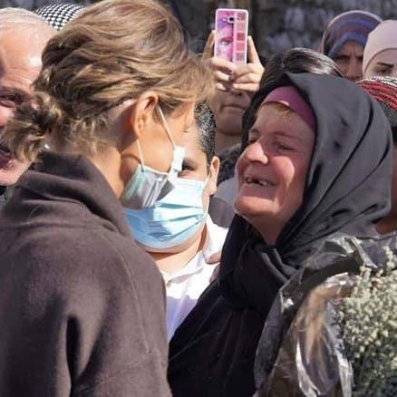 سرّ زيارة أسماء الأسد قرية بعيدة بأعالي جبال اللاذقية