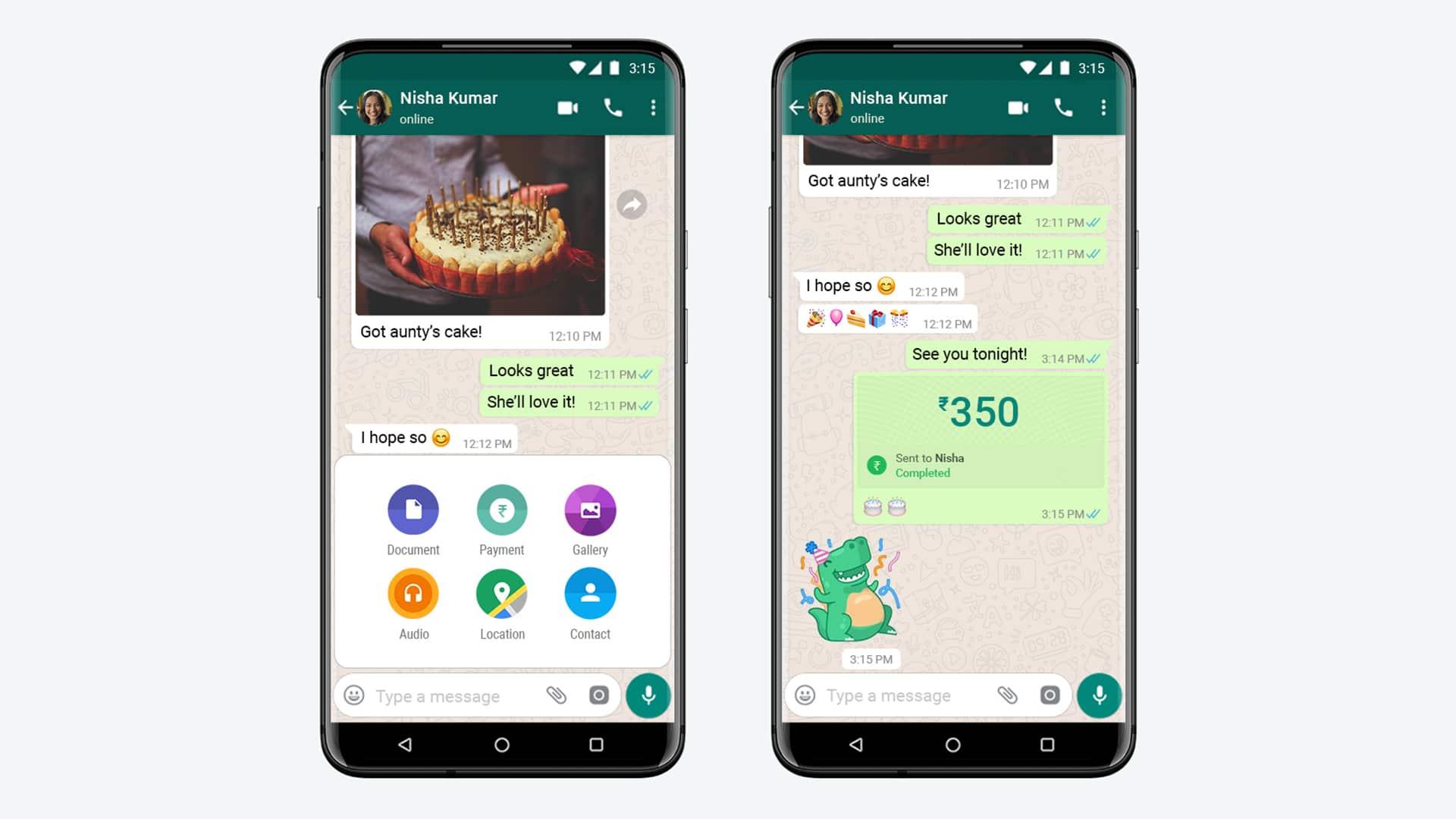 """طريقة إعداد خدمة """"الدفع"""" في واتساب لإرسال الأموال واستلامها"""