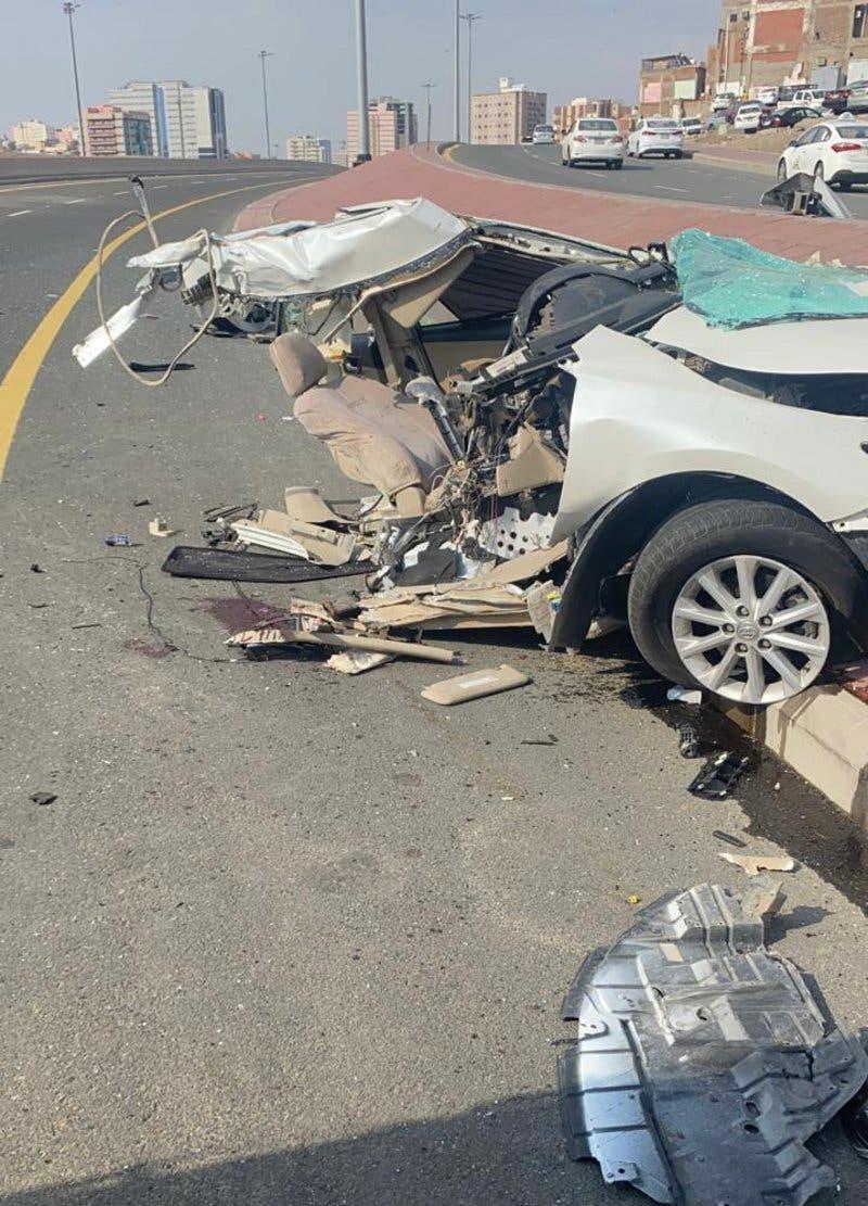 مکہ ٹریفک حادثہ