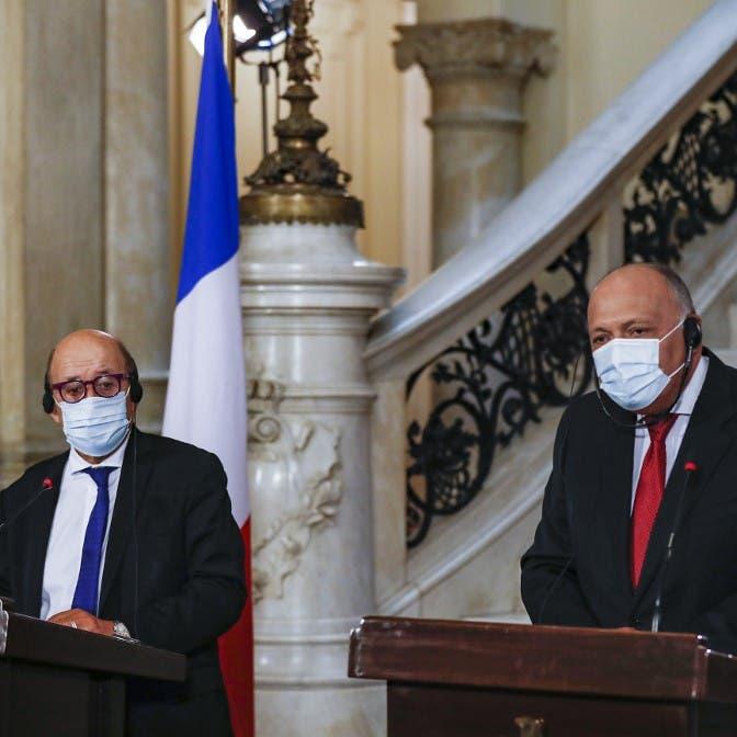وزير خارجية فرنسا من القاهرة: يجب ترحيل مرتزقة ليبيا