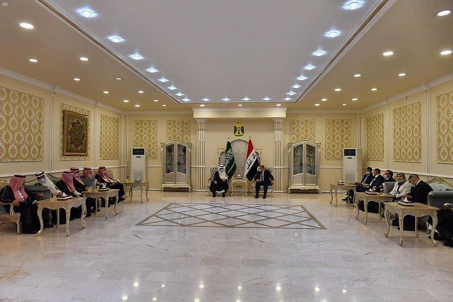 وفد سعودي برئاسة وزير الزراعة يصل العراق