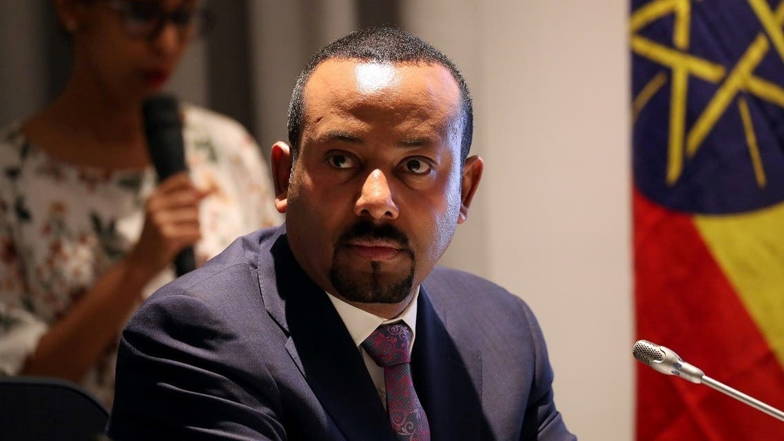 Ethiopia's Prime Minister Abiy Ahmed attends a signing ceremony with European Commission President Ursula von der Leyen in Addis Ababa, Ethiopia December 7, 2019. (Reuters/Tiksa Negeri)