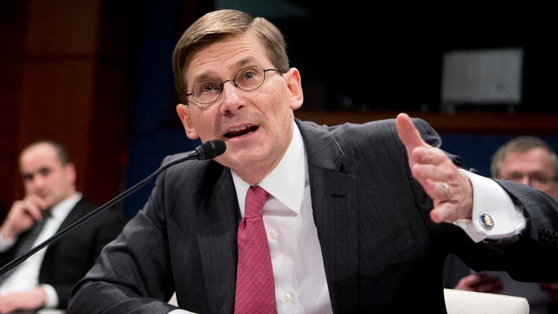 Former CIA Deputy Director Michael Morell testifies on Capitol Hill in Washington, April 2, 2014, before the House Intelligence Committee. (AP/Manuel Balce Ceneta)