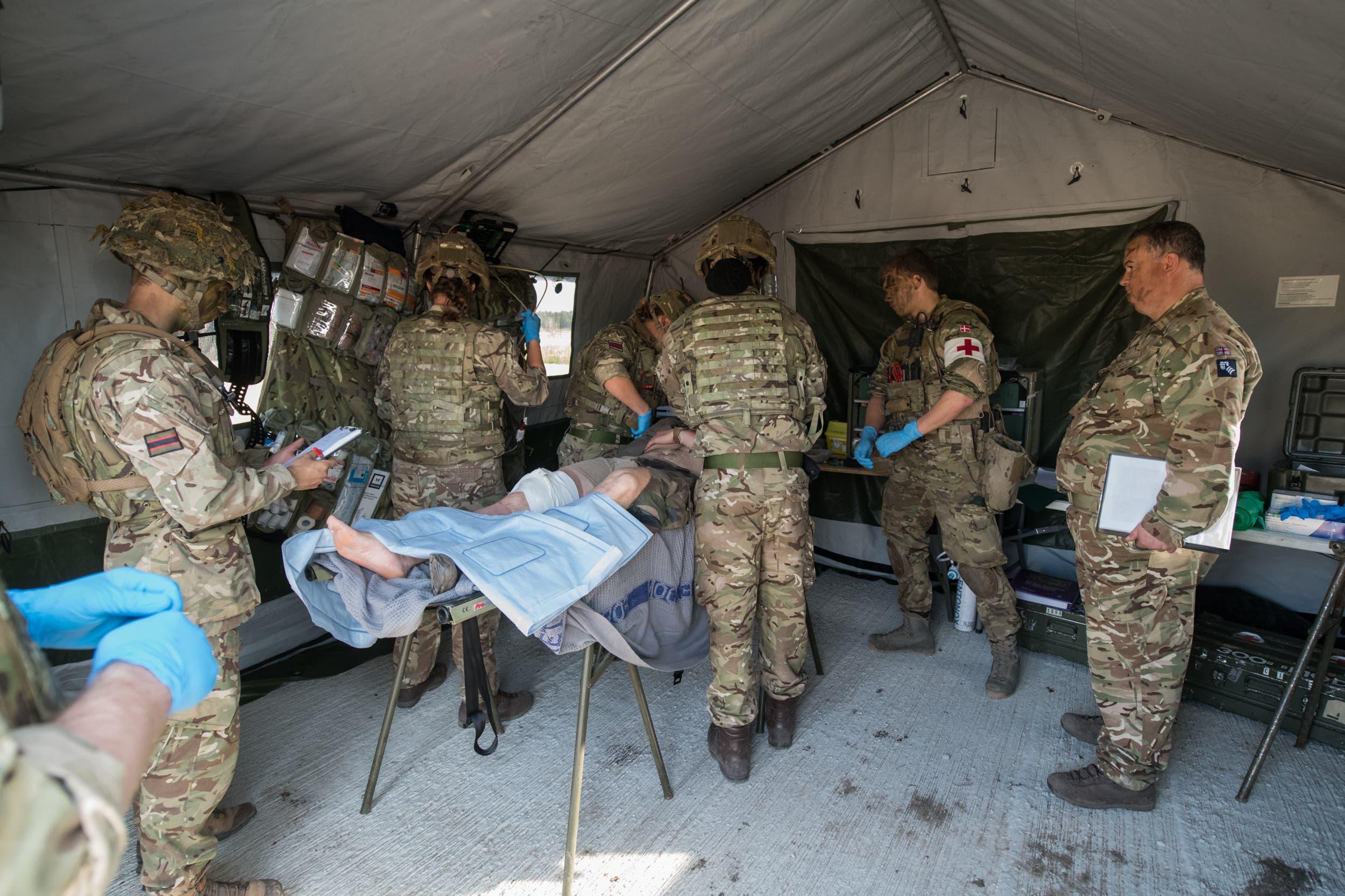 عناصر من الجيش البريطاني (أرشيفية- فرانس برس)