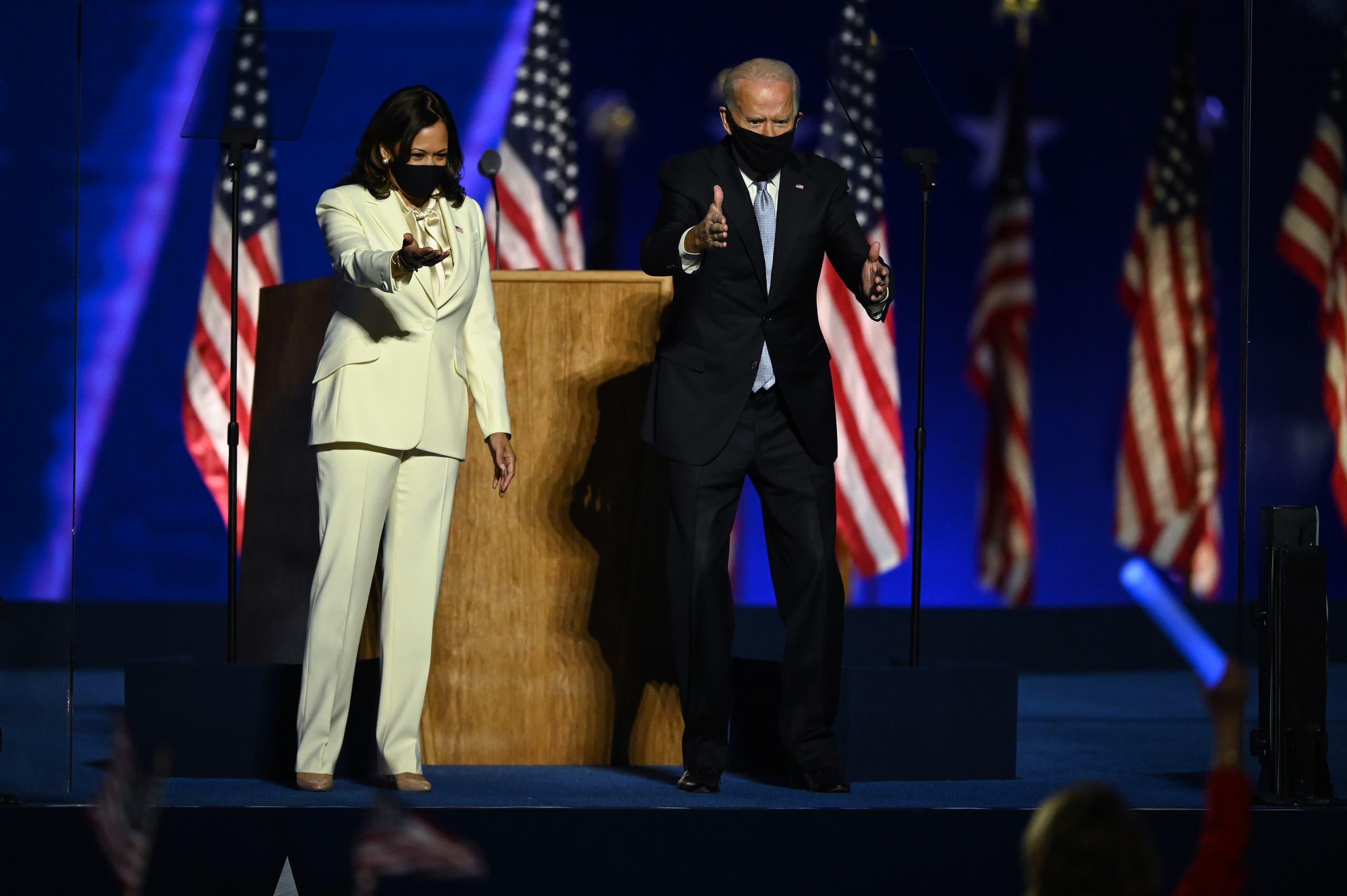 ماذا تضمن خطاب بايدن الأول بعد إعلان فوزه بالإنتخابات الأمريكية